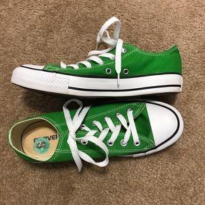 Unisex Green All-Star Converse!!!!
